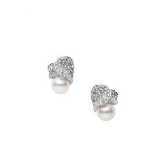 Les Pétales Place Vendôme Pierced Earrings - PE-1690PU