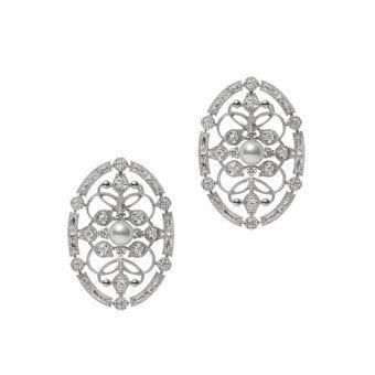 Cortège Pierced Earrings - PE-1652PU