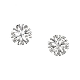 Mikimoto Coral Collection Pierced Earrings - GE-360PU