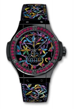 BIG BANG BRODERIE SUGAR SKULL CERAMIC 41 mm - 343.CS.6599.NR.1213