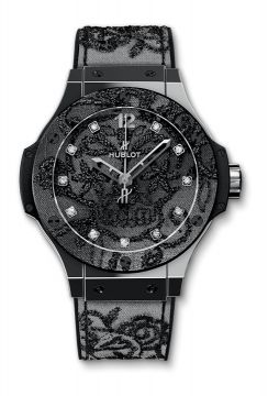 BIG BANG BRODERIE STEEL 41 mm - 343.SS.6570.NR.BSK16