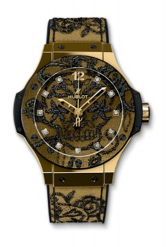BIG BANG BRODERIE YELLOW GOLD 41 mm - 343.VX.6580.NR.BSK16