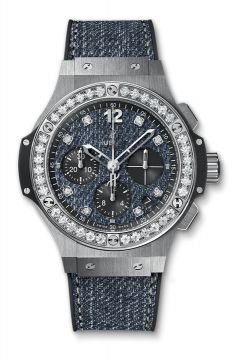 BIG BANG JEANS STEEL DIAMONDS 41 mm - 341.SX.2770.NR.1204.JEANS