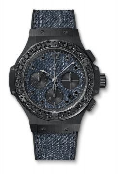 BIG BANG JEANS CERAMIC BLACK DIAMONDS 41 mm - 341.CX.2740.NR.1200.JEANS