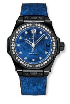 BIG BANG ONE CLICK ITALIA INDEPENDENT BLUE VELVET 39 mm - 465.CS.277L.NR.1204.ITI17