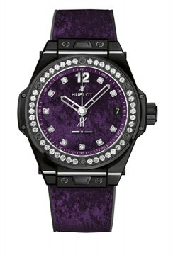 BIG BANG ONE CLICK ITALIA INDEPENDENT PURPLE VELVET 39 mm - 465.CS.277V.NR.1204.ITI17