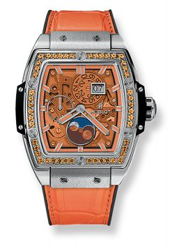 SPIRIT OF BIG BANG MOONPHASE TITANIUM ORANGE 42 mm - 647.NX.5371.LR.1206