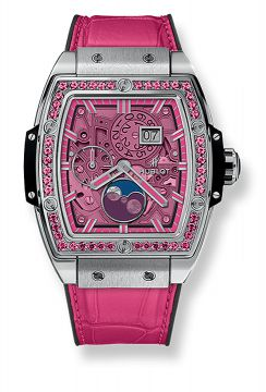 SPIRIT OF BIG BANG MOONPHASE TITANIUM PINK 42 mm - 647.NX.7371.LR.1233
