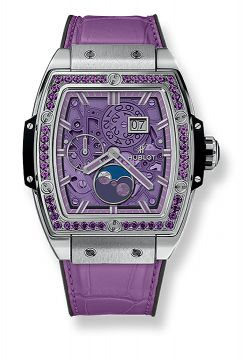 SPIRIT OF BIG BANG MOONPHASE TITANIUM PURPLE 42 mm - 647.NX.4771.LR.1205