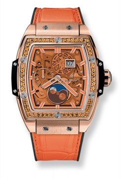 SPIRIT OF BIG BANG MOONPHASE KING GOLD ORANGE 42 mm - 647.OX.5381.LR.1206