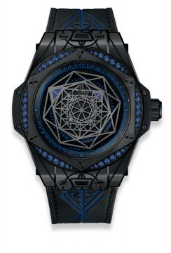 BIG BANG SANG BLEU ALL BLACK BLUE 39 mm - 465.CS.1119.VR.1201.MXM18