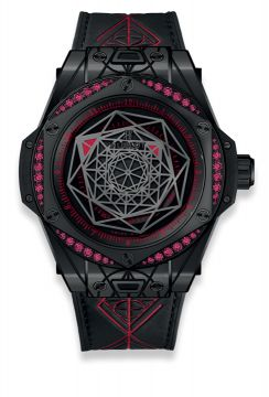 BIG BANG SANG BLEU ALL BLACK RED 39 mm - 465.CS.1119.VR.1202.MXM18