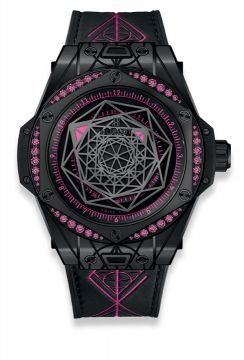 BIG BANG SANG BLEU ALL BLACK PINK 39 mm - 465.CS.1119.VR.1233.MXM18