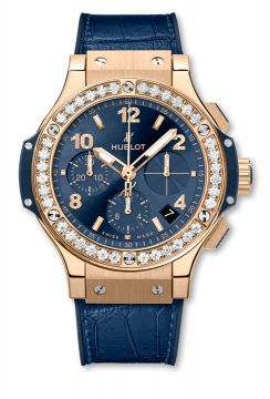 BIG BANG GOLD BLUE DIAMONDS 41 mm - 341.PX.7180.LR.1204