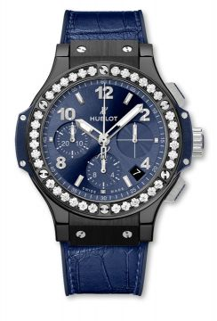BIG BANG CERAMIC BLUE DIAMONDS 41 mm - 341.CM.7170.LR.1204