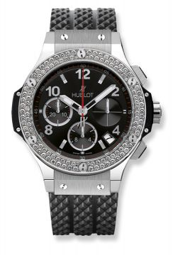 BIG BANG STEEL DIAMONDS 41 mm - 341.SX.130.RX.114