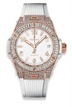 BIG BANG ONE CLICK KING GOLD WHITE JEWELLERY 39 mm - 465.OE.2080.RW.0904