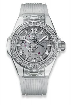 BIG BANG ONE CLICK SAPPHIRE DIAMONDS 39 mm - 465.JX.4802.RT.1204