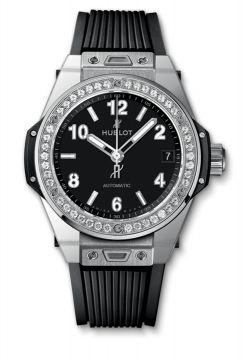BIG BANG ONE CLICK STEEL DIAMONDS 39 mm - 465.SX.1170.RX.1204