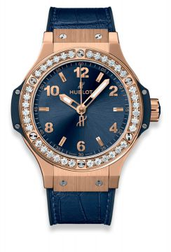 BIG BANG GOLD BLUE DIAMONDS 38 mm - 361.PX.7180.LR.1204