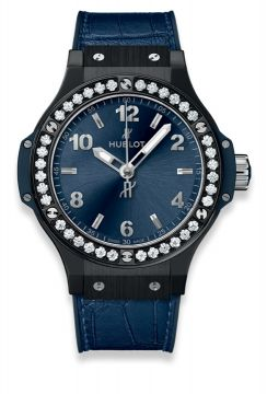 BIG BANG CERAMIC BLUE DIAMONDS 38 mm - 361.CM.7170.LR.1204