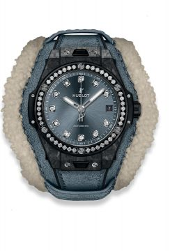 BIG BANG ONE CLICK FROSTED CARBON DIAMONDS 39 mm - 465.QK.7170.VR.1204.ALP18