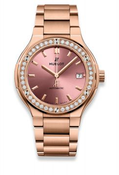 CLASSIC FUSION KING GOLD PINK BRACELET 38 mm - 568.OX.891P.OX.1204