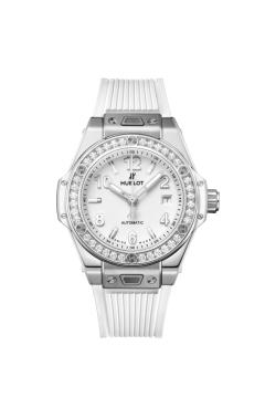 ONE CLICK STEEL WHITE DIAMONDS 33 MM - 485.SE.2010.RW.1204