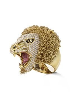 LION RING - ADZ206RI0342