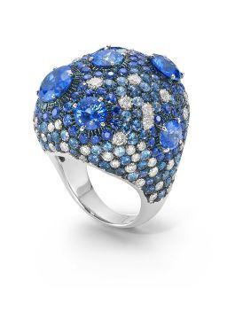 HAUTE COUTURE BLUE SAPPHIRE RING  - ADZ364RI0131
