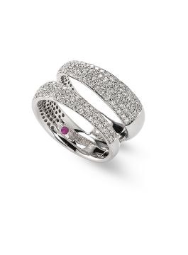 SCALARE DIAMONDS RING - ADR888RI0940