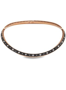 VENETIAN PRINCESS BLACK DIAMONDS NECKLACE - ADR888CL1408