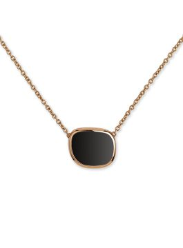 BLACK JADE PINK GOLD PENDANT - ARV888CL1403