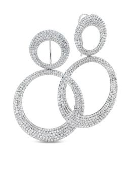 SCALARE EARRINGS DIAMONDS - ADR888EA0983