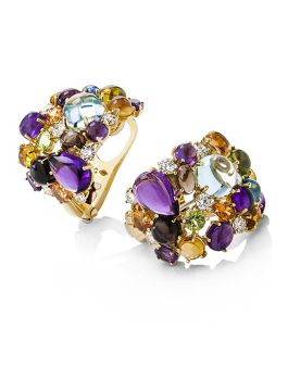 SHANGHAI COLOURED STONES EARRINGS - ADV888EA0699