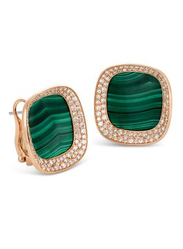 CARNABY STREET MALACHITE EARRINGS - ADV888EA1376