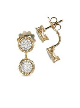 NEW BAROCCO DIAMONDS EARRINGS - ADR888EA1422
