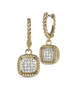 NEW BAROCCO DIAMONDS EARRINGS - ADR777EA0603