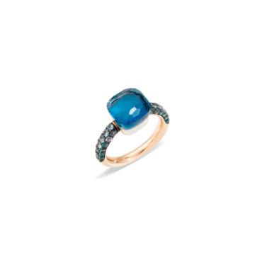 Ring Nudo Deep Blue - A.B904O6TLTTB