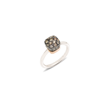 Ring Nudo Solitaire - A.B501/O6/BR
