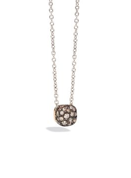 PENDANT WITH CHAIN NUDO - F.B601/O6/BR