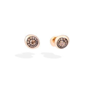 Nuvola Stud Earrings - O.B813BRO705