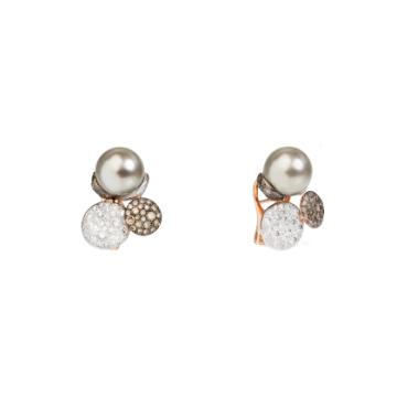 Sabbia Stud Earrings - O.C0037B9BR/P
