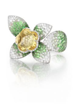 Giardini Segreti Haute Couture Ring - 15268B