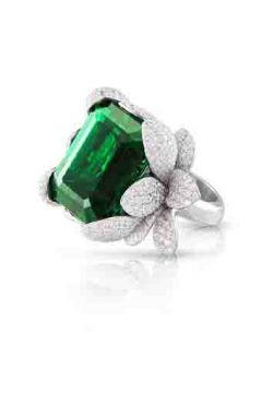Giardini Segreti Haute Couture Ring - 15500B