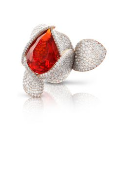 Giardini Segreti Haute Couture Ring - 15491R