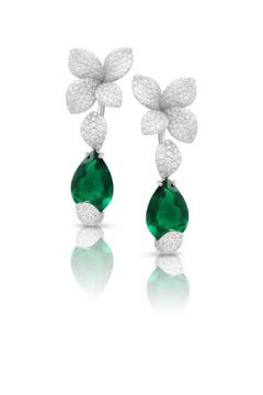Giardini Segreti Haute Couture Earrings - 15471B