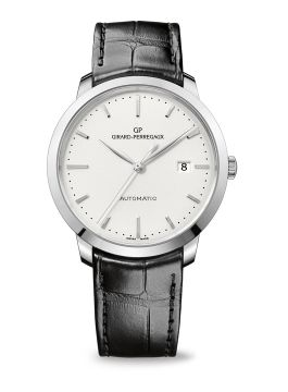 GIRARD-PERREGAUX 1966, 40 MM, STEEL - 49555-11-131-BB60
