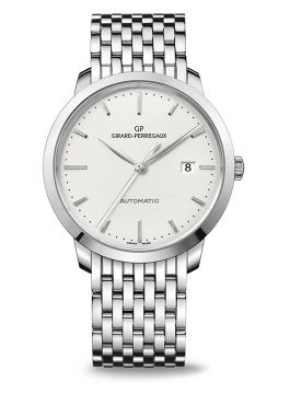 GIRARD-PERREGAUX 1966, 40 MM, STEEL - 49555-11-131-11A