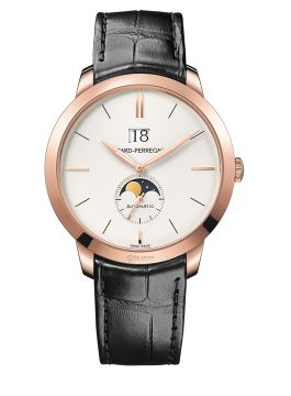 GIRARD-PERREGAUX 1966 LARGE DATE, MOON PHASES - 49546-52-131-BB60